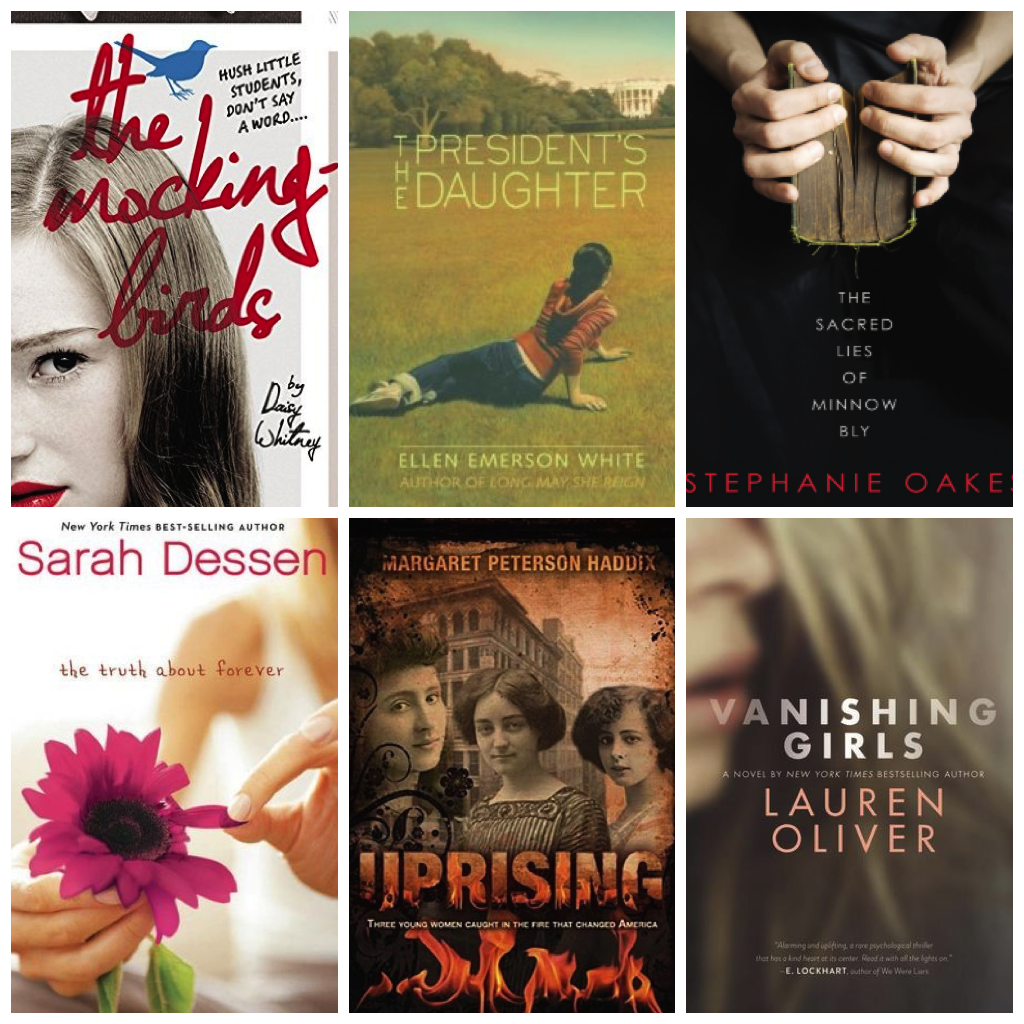 Your Favorite Female-Driven Young Adult Novels