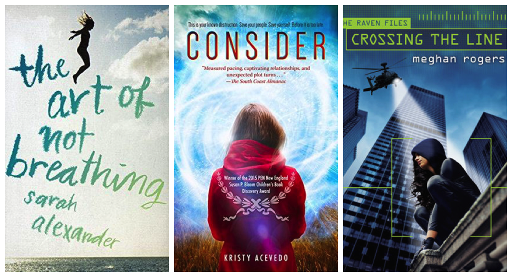 April 2016 Debut YA Novels Collage 1