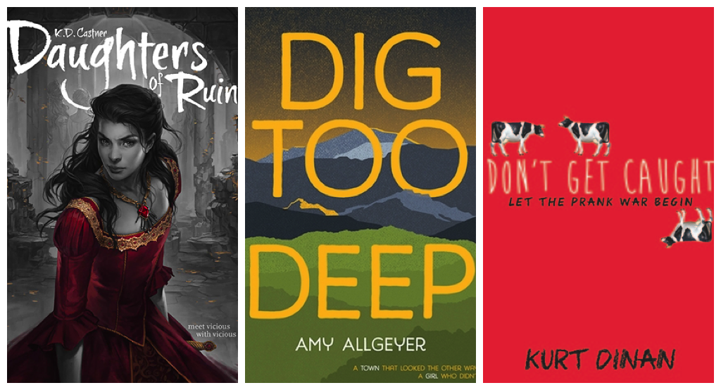April 2016 debut YA novels collage 2