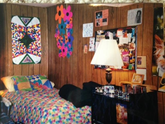kelly's teen bedroom