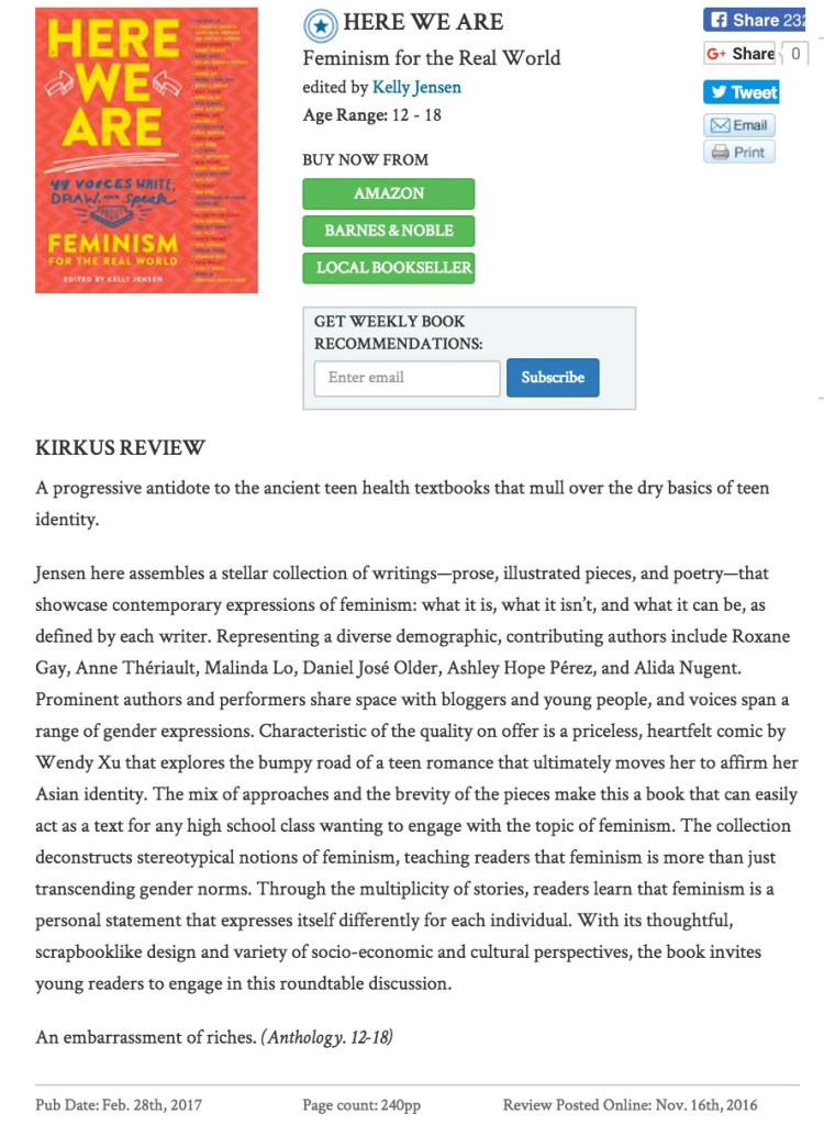 here_we_are_by_kelly_jensen___kirkus_reviews
