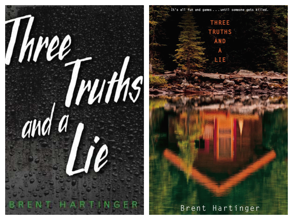 three truths and a lie hardcover:paperback