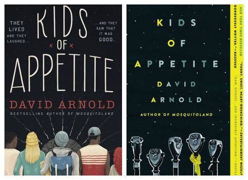 Kids of Appetite by David Arnold covers