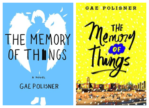 the memory of things by gae polisner cover change